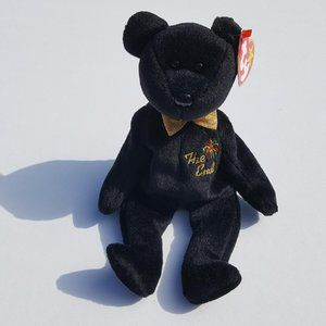Ty Beanie Babies THE END Bear Retired